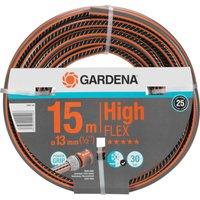Gardena Comfort HighFLEX Hose Pipe 1/2 / 12.5mm 15m Grey & Orange