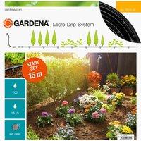 Gardena MICRO DRIP S Above Ground Water Irrigation Starter Set