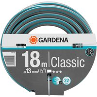 "Gardena Classic Hose Pipe 1/2"" / 12.5mm 18m Blue & Grey"