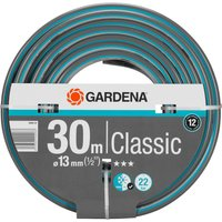 "Gardena Classic Hose Pipe 1/2"" / 12.5mm 30m Blue & Grey"
