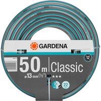 """Gardena Classic Hose Pipe 1/2"""" / 12.5mm 50m Blue & Grey"""