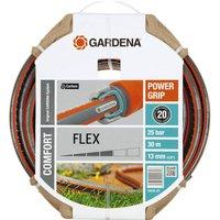 Gardena Comfort FLEX Hose Pipe 1/2 / 12.5mm 30m Grey & Orange