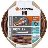 Gardena Comfort HighFLEX Hose Pipe 1/2 / 12.5mm 30m Grey & Orange