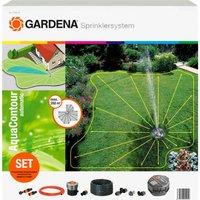 Gardena SPRINKLERSYSTEM Aquacontour Large Area Solar Pop Up Garden Sprinkler Set