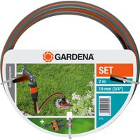 "Gardena SPRINKLER SYSTEM PROFI Hose Pipe Connection Set 3/4"" / 19mm 2m"