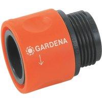 Gardena ORIGINAL Threaded Hose Pipe Connector 26.5mm Pack of 1