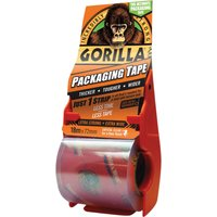 Gorilla Packing Tape & Dispenser Clear 72mm 18m