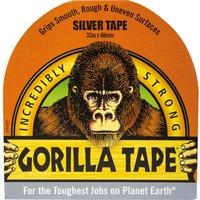 Gorilla Glue Gorilla Tape Silver 48mm 32m