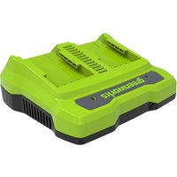 Greenworks 24v Twin Port 2A Cordless Battery Charger