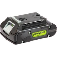 Greenworks G24B2 24v Cordless Li ion Battery 2ah 2ah