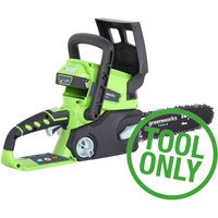Greenworks G24CS 24v Cordless Chainsaw 250mm No Batteries No Charger