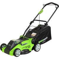 Greenworks G40LMK 40v Cordless Rotary Lawnmower 400mm No Batteries No Charger