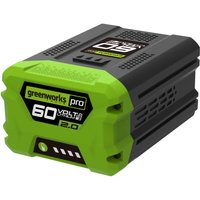 Greenworks G60 60v Cordless Li ion Battery 2ah 2ah