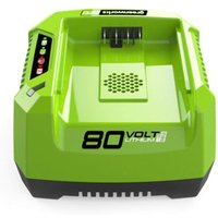 Greenworks G80C 80v Cordless Li ion Fast Battery Charger 240v
