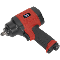 Sealey GSA6000 Twin Hammer Air Impact Wrench 3 8  Drive