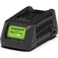 Greenworks G24 24v Cordless Li ion Fast Charger 240v