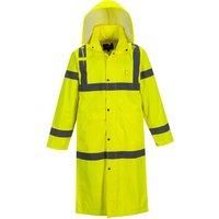 Portwest Long Length Hi Vis Coat Yellow XL