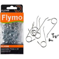 Flymo FLY058 Genuine Tines for Lawnrake Compact 3400 / 340 / 350 Pack of 42