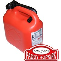Paddy Hopkirk Plastic Fuel Can 5l Red
