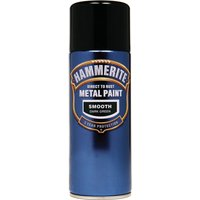 Hammerite Smooth Finish Aerosol Metal Paint Dark Green 400ml