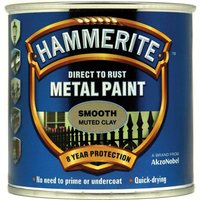 Hammerite Direct to Rust Metal Paint Muted Clay 250ml