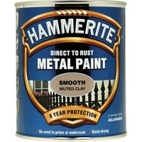 Hammerite Direct to Rust Metal Paint Muted Clay 750ml