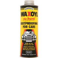 Hammerite Waxoyl Rust Remover and Protector Schutz Clear 1l