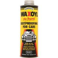Hammerite Waxoyl Rust Remover & Protector Schutz Black 1l