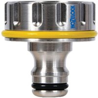 Hozelock Pro Metal Threaded Tap Hose Pipe Connector 33.3mm