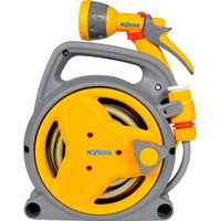"Hozelock Pico Micro Hose Reel 19/64"" / 7.5mm 10m Grey & Yellow"