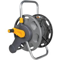 Hozelock Empty Floor & Wall Mounted Hose Reel 60m