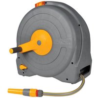 Hozelock Floor Standing Fast Hose Reel 1/2 / 12.5mm 40m Grey & Yellow