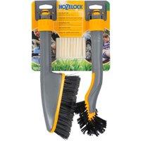 Hozelock Short Car Care Wash Brush and Shampoo Soap Stick Set
