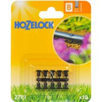 Hozelock CLASSIC MICRO Blanking Plug 1/2 / 12.5mm Pack of 10