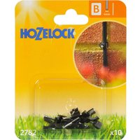 Hozelock CLASSIC MICRO Wall Clip 5/32 / 4mm Pack of 10