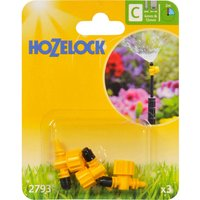 Hozelock CLASSIC MICRO 90 Adjustable Microjet 5/32 / 4mm Pack of 3