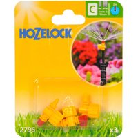 Hozelock CLASSIC MICRO 360 Adjustable Microjet 5/32 / 4mm Pack of 3