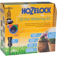 Hozelock CLASSIC MICRO 20 Pot Garden Watering System and Digital Timer