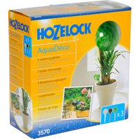 Hozelock Aquadeco Water Globe Pack of 3