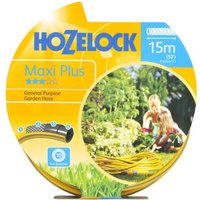 "Hozelock Starter Hose Pipe 1/2"" / 12.5mm 15m Grey & Yellow"