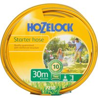 "Hozelock Starter Hose Pipe 1/2"" / 12.5mm 30m Grey & Yellow"