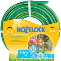 "Hozelock Ultraflex Anti Kink & Anti Twist Hose Pipe 1/2"" / 12.5mm 30m Green"
