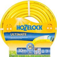 "Hozelock Ultimate Anti Kink Crush Proof Hose Pipe 1/2"" / 12.5mm 30m Yellow"
