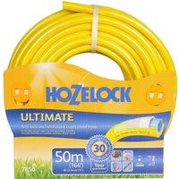 "Hozelock Ultimate Anti Kink Crush Proof Hose Pipe 1/2"" / 12.5mm 50m Yellow"