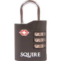 Henry Squire Tsa Approved Recodable Combination Padlock 35mm Standard