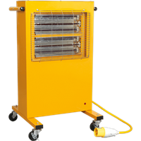Sealey Infrared Cabinet Heater 110v