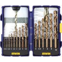 Irwin 15 Piece HSS Cobalt Drill Bit Set