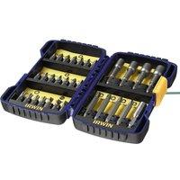 Irwin 30 Piece Drill & Screwdriver Bit Set