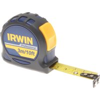 Irwin Professional Pocket Tape Measure Imperial & Metric 10ft / 3m 16mm