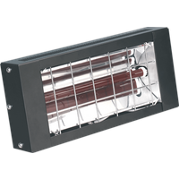 Sealey Wall Mounted Infrared Electric Heater 240v 1500 Watts